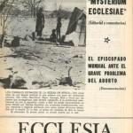 ECCLESIA Número 1653, 4 de Agosto de 1973, Año XXXIII