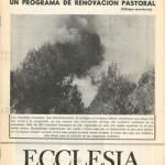 ECCLESIA Número 1654, 11 de Agosto de 1973, Año XXXIII