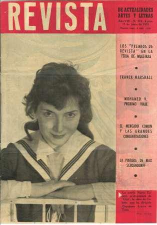 Revista de Actualidades Artes y Letras, 13 de junio de 1959