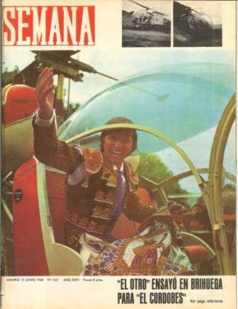 SEMANA, 12 junio 1965, Nº 1321, AÑO XXVI
