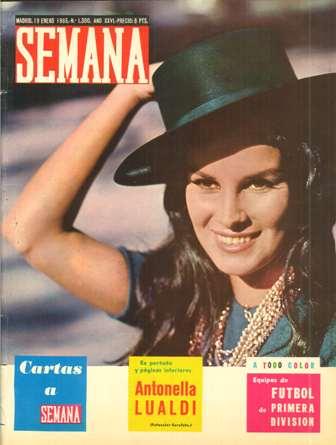 SEMANA 19 enero 1965, Nº 1300, AÑO XXVI