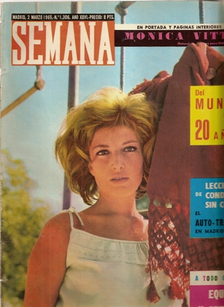 SEMANA, 2 marzo 1965, Nº 1306, AÑO XXVI
