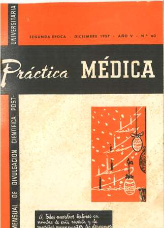 practica medica diciembre 1957