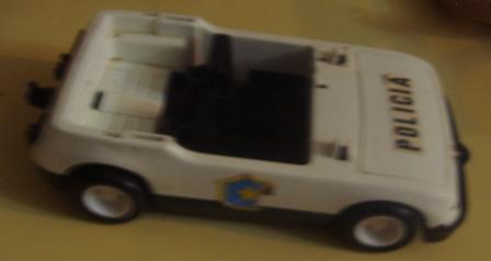 Coche policia Famobil 1976