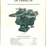 Lámina de máquina La Perfecta, Hijo de Francisco Sirvent, Alcoy