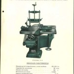 Lámina de máquina La Perfecta, Hijo de Francisco Sirvent, Alcoy_