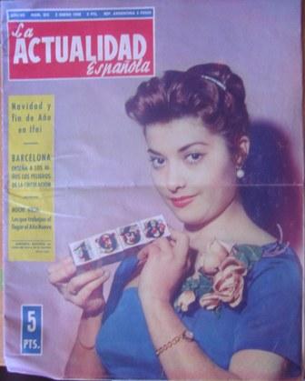 la actualidad española 1958