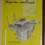 Lámina Máquina combinada, Arcadio D. De Corcuera, Valladolid