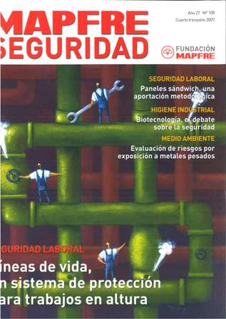 MAPFRE SEGURIDAD Año 27, Nº 108, Cuarto Trimestre 2007