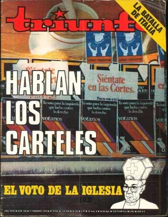 TRIUNFO AÑO XXXII, NÚM. 838, 17 FEBRERO 1979