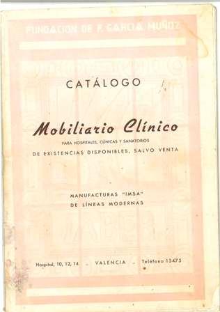 catalogo de mobiliario clinico