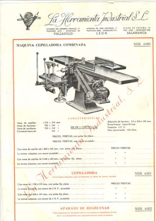 la herramienta industrial