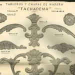 Catálogo n 2 de molduras y figuras troqueladas, Tachadema, Salamanca