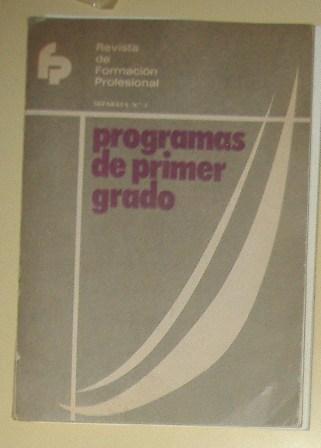 programs de primer grado