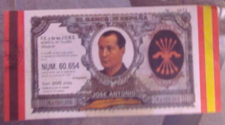 Lotería F.E. y de las J.O.N.S Morata de Tajuña, 22 diciembre 1987