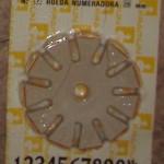 rueda numeradora