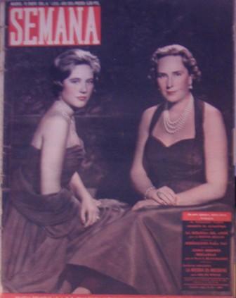 SEMANA AÑO XXII, NÚM. 1090, 10 de enero de 1961