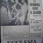 ECCLESIA Número 1762, 25 de octubre de 1975, Año XXXV
