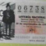 Lotería Nacional, Décimo, 26 de septiembre de 1981
