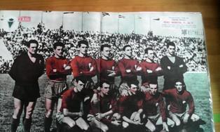 Poster Semana, Real Murcia C.F., 1960 - 61