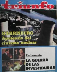 TRIUNFO AÑO XXXIII, NÚM. 845, 7 ABRIL 1979