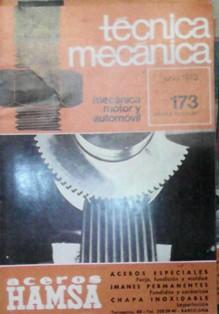 Técnica mecánica 173, junio 1973