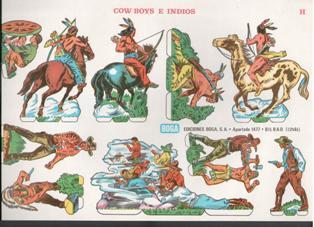 cow boys e indios
