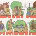 serie numero 5 soldados