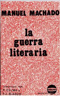 la guerra literaria