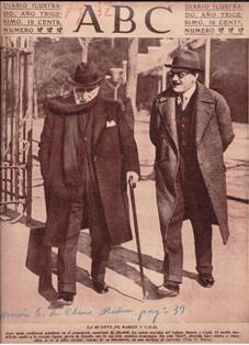 ABC, 19 de octubre de 1934, La Muerte de Ramón y Cajal. Revoluci