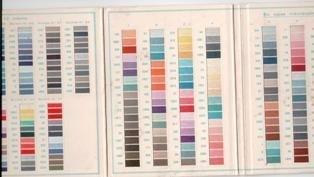 cometa carta de colores detalle