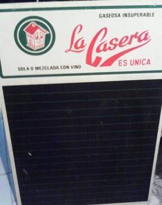 pizarra La Casera