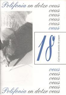 Col.lección poesía de paper, nº 18, Polifonía en dotze veus