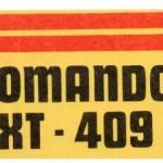 Pegatina, comando XT – 409