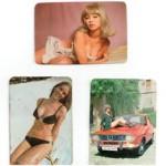 Tres calendarios eróticos