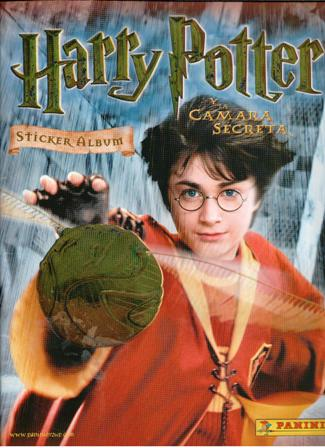 Álbum de Cromos Harry Potter y la Cámara Secreta