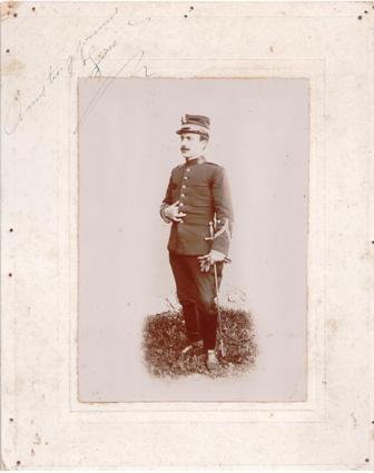 fotografia de militar