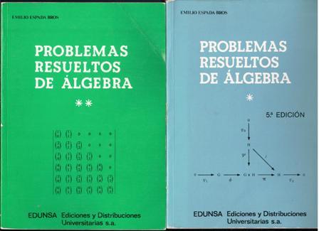 problemas resueltos de algebra