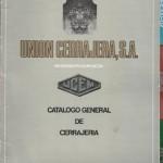 Catálogo General de Cerrajería, Unión Cerrajera S.A., Mondragón,