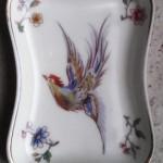 Platito porcelana Limoges, Paul Pastaud