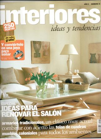 simple interiores revista de decoracin ao nmero especial renovar el saln with paginas decoracion interiores