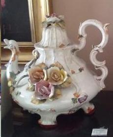 Jarra cerámica Bassano, Capodimonte, Made in Italia