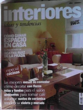revista de decoracin interiores ao n especial cocinas