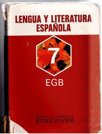 lengua y literatura 7 egb