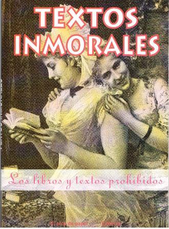 Textos inmorales, José Antonio Solís.