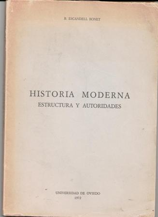 historia moderna estructura