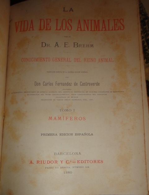 La vida animales 1