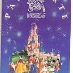Pasaporte Nestle. Euro Disney 1992