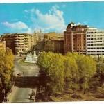 Postal León. Vista panorámica. 1966