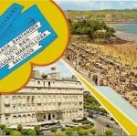 Postal Santander. Hotel y Playa Sardinero.